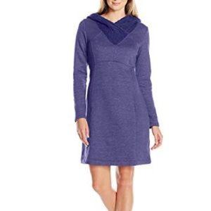 cute prAna hooded sweater dress